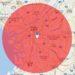 地図上に好きな半径の円を描けます (Google Maps API V3版)